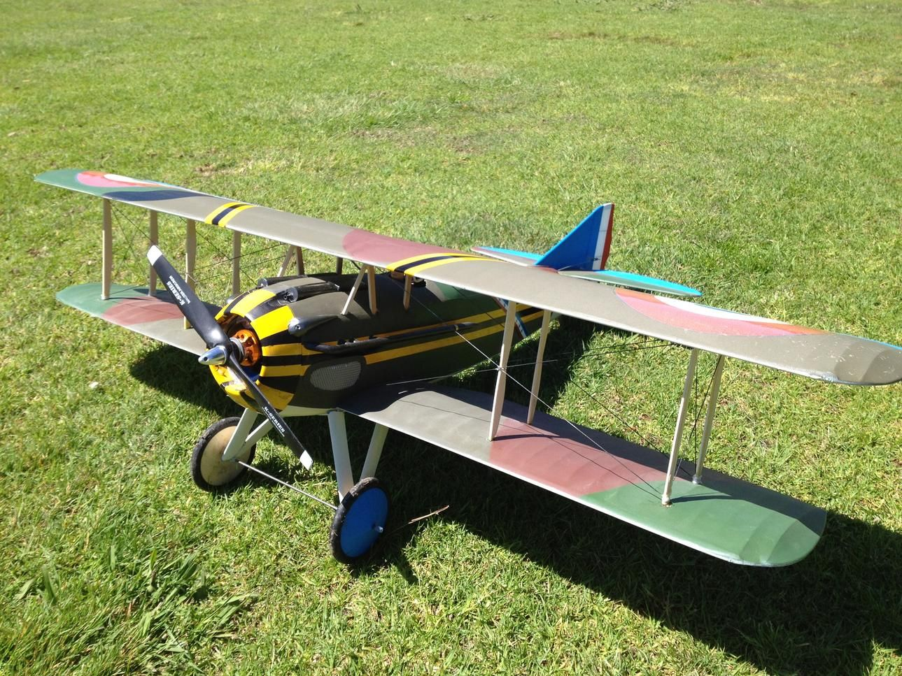 "Spad 13 - 36"" electric scale"