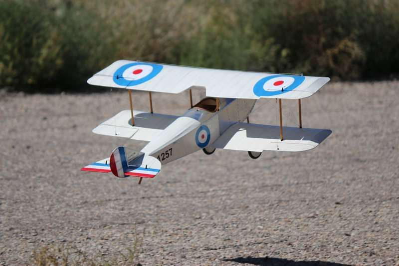 SOPWITH TABLOID - Parts set and plan