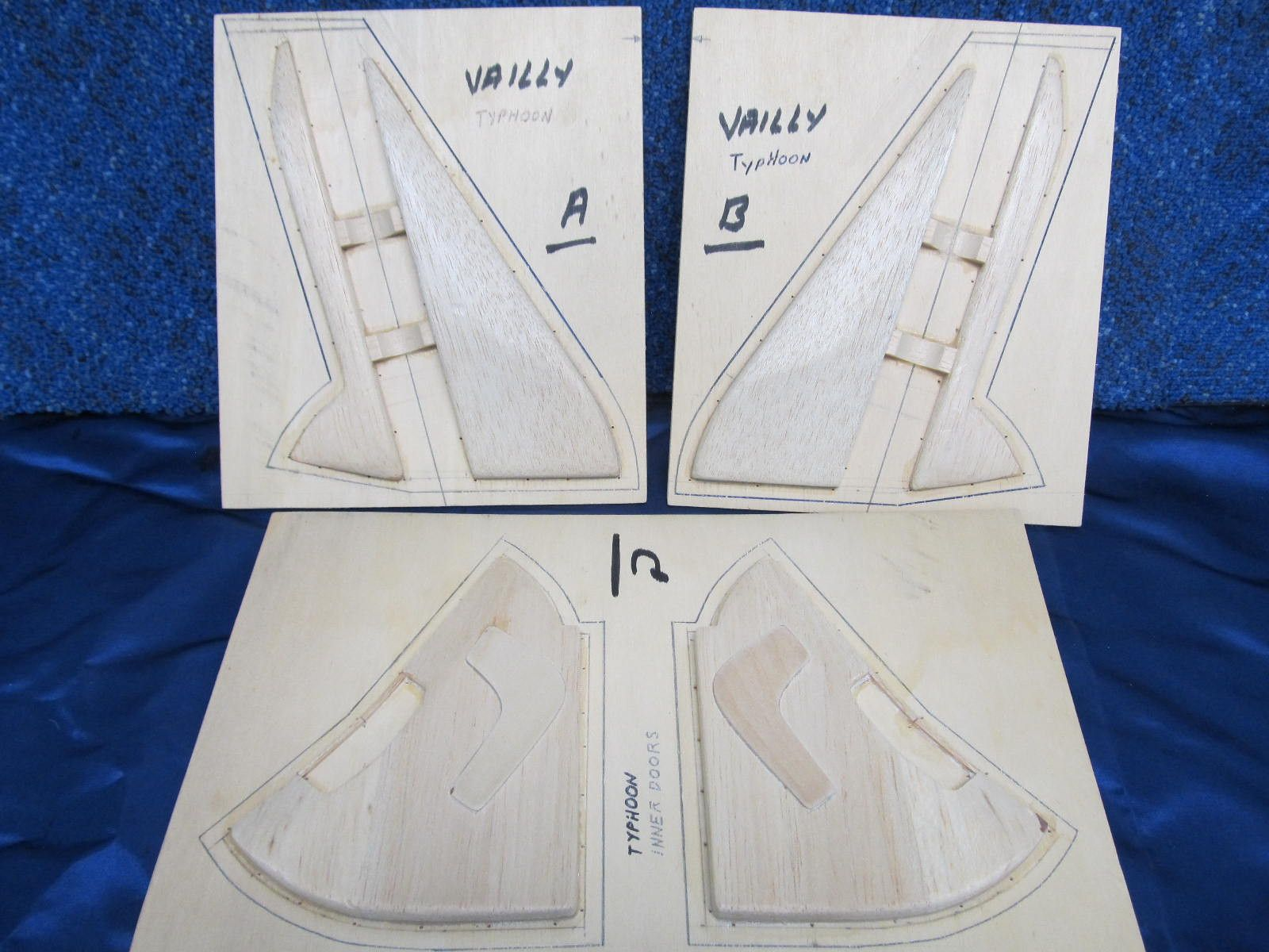 Vac-formed accessories for Vailly Typhoon