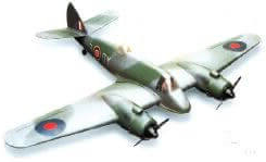 Bristol Beaufighter (70″) designed by Tony Nijhuis - Parts Set only