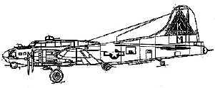 B-17 Fortress plan - Don Smith
