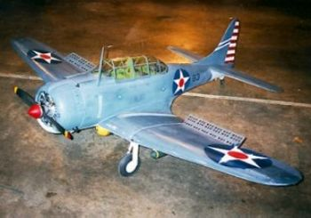 SBD Dauntless 85inch Parts Set by Jerry Bates