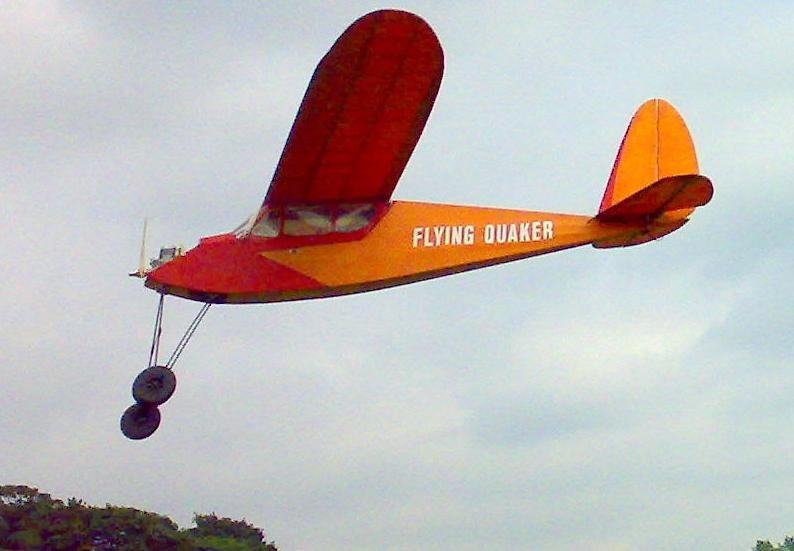 "Flying Quaker 84"" Parts Set"