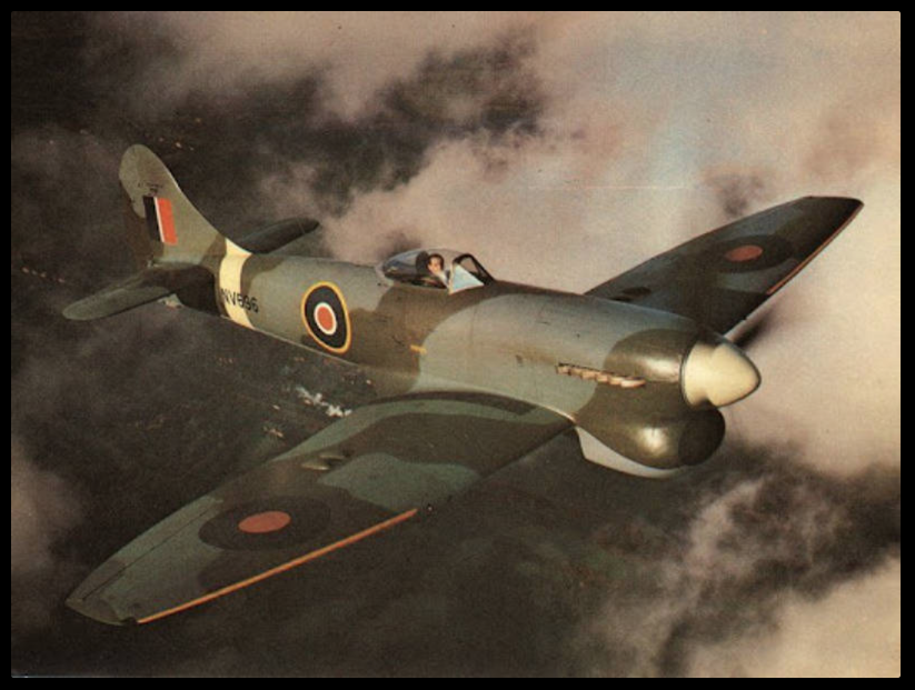 Hawker Tempest Mk. V – 1/4 scale by J Bates